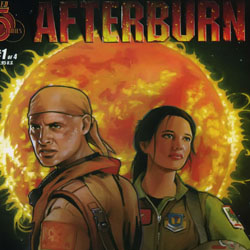 O cómic Afterburn