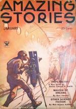 A portada de Amazing Stories