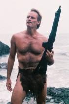 Charlton Heston en O Planeta dos Símios