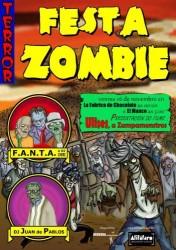 Cartace da festa zombi en Vigo